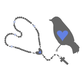 bird and rosary