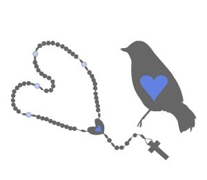 bird and rosary