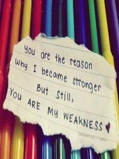 myweakness