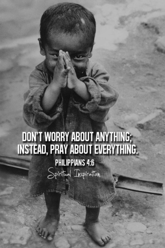don't worry pray