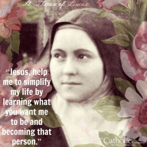 st therese on simplicity
