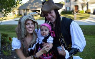 My opinion.... best lookin' pirate around.  Look out, Johnny Depp!