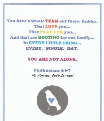 you are not alone kiddos collage