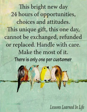 day of opportunities