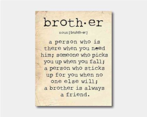 define brother