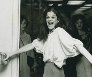 gilda radner black and white
