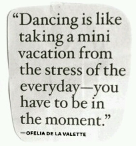 dance away from stress