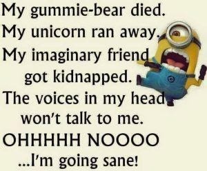 minion crazy