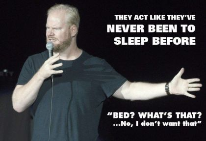 Gaffigan on Bedtime