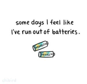 run out of batteries