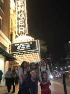 My Crew outside of the Saenger