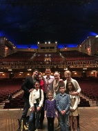 The Fam with Dodd (saenger background with the stars)